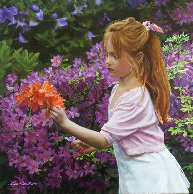 Portrait Painting Commission | Flowers For Mother
