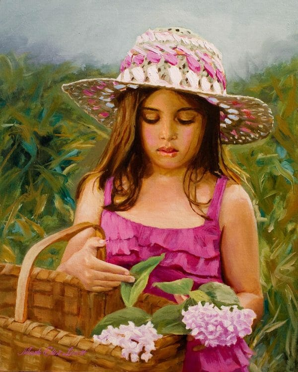 Portrait Artist for Hire - In The Garden