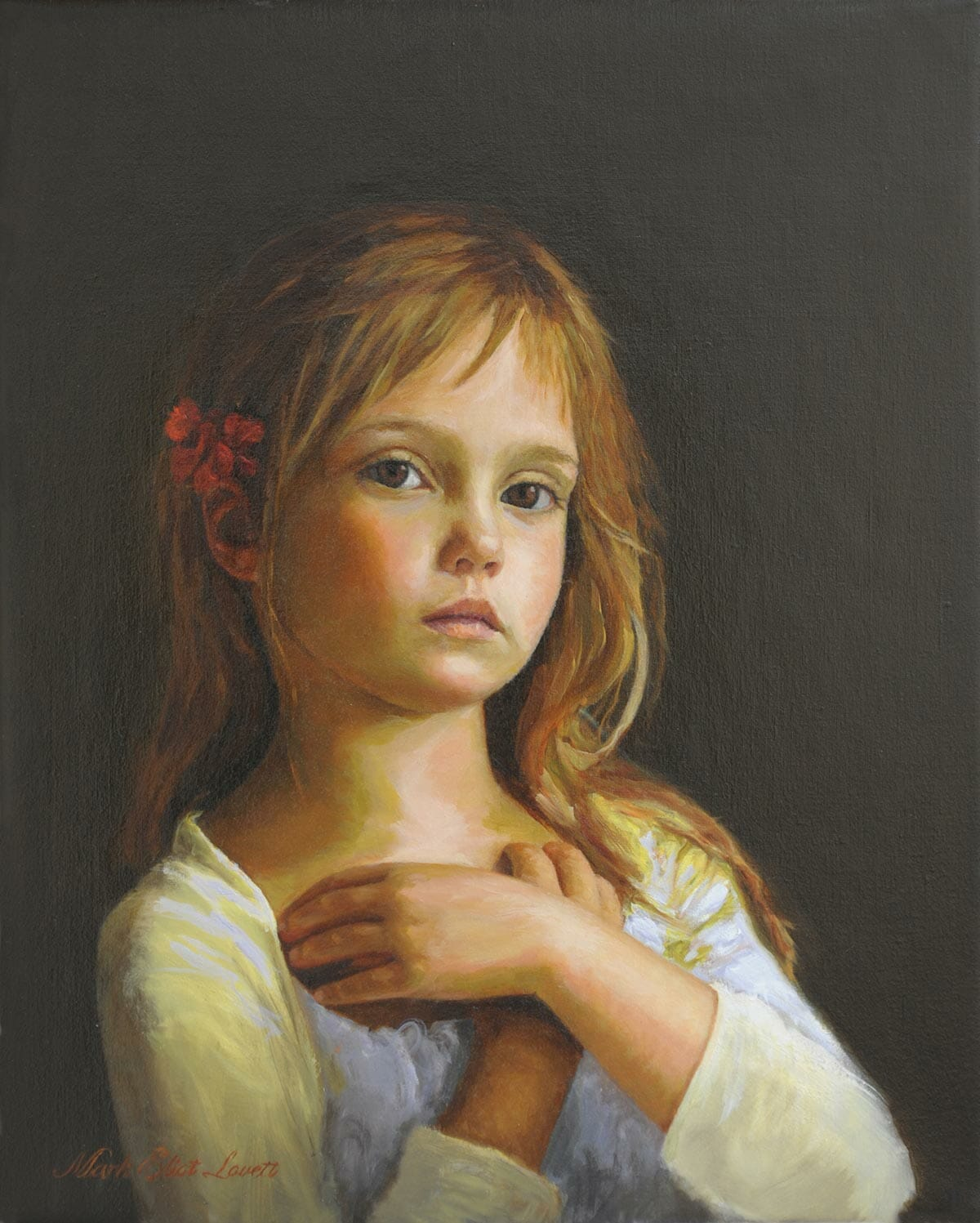 Commission a Portrait Oil Painting by Mark Lovett at marklovettstudio.com in Gaithersburg, MD