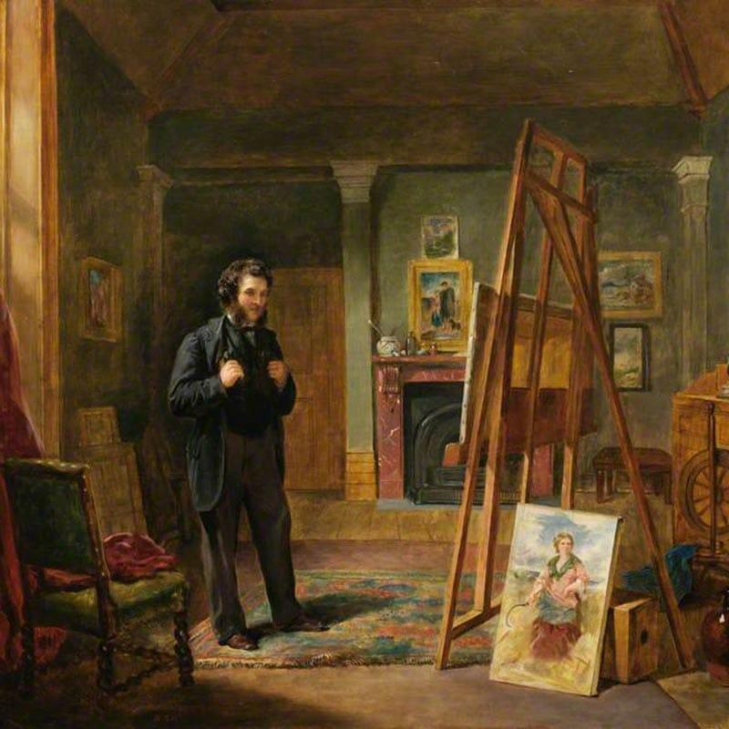 Commission a portrait - JohnBallan