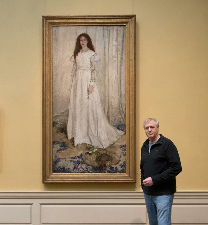 Whistler's Symphony in White at National Gallery