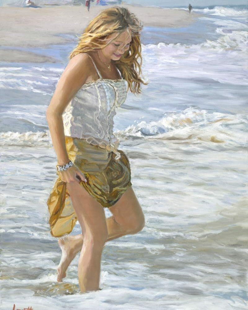 Original Oil Painting by Mark Lovett at marklovettstudio.com in Gaithersburg, MD
