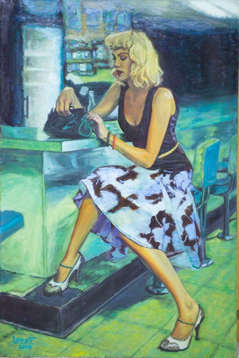 Original Oil Painting by Mark Lovett at marklovettstudio.com in Gaithersburg, MD