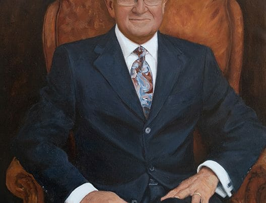 Finished Corporate Portrait Painting Commission