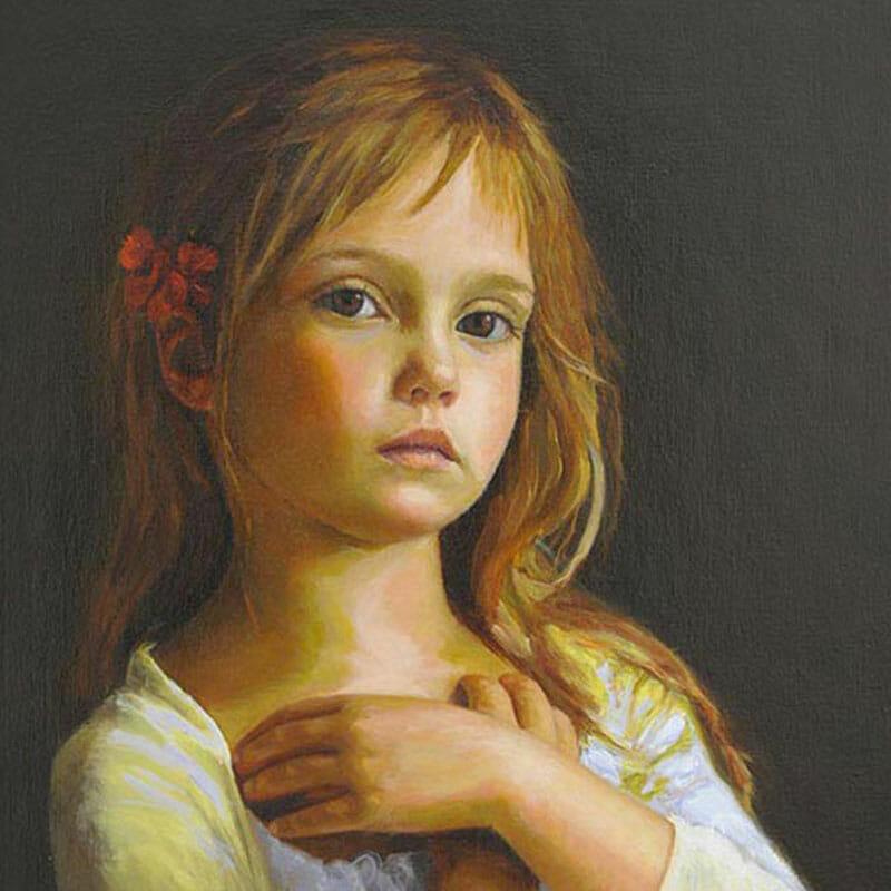 portrait artist for hire commission paintings